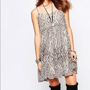Free People Periscopes in the sky Dress M